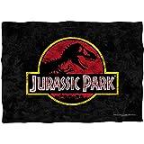 Jurassic Park Classic Logo Pillow Case White One Size