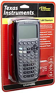 TI-89 Graphing Calc Titanium (B0001EMLZ2) | Amazon Products