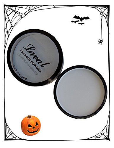 Laval Creme Pressed Face Powder White Halloween -