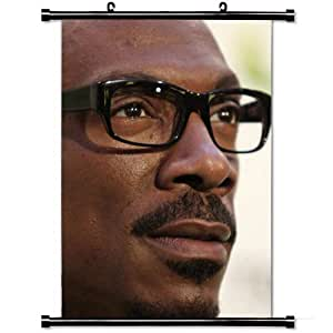 Home Decor Designer Poster with Eddie Murphy Actor Sunglasses Black Hollywood Celebrity Wall Scroll Poster Fabric Painting 23.6 X 35.4 Inch (60cm X 90 cm)