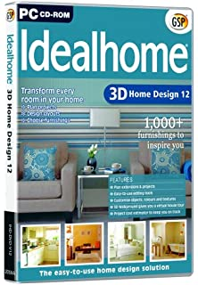 ideal home design. Ideal Home 3D Design 12 Deluxe  Amazon co uk Software
