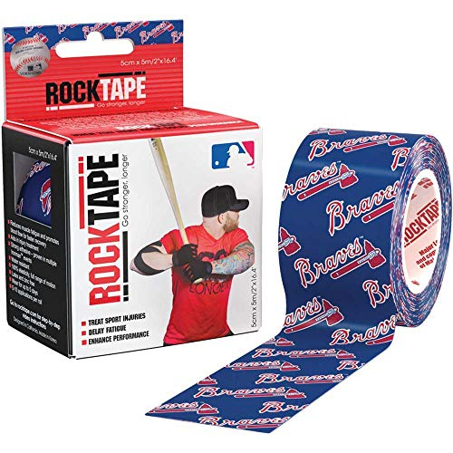 Louis Cardinals Video - Rocktape Kinesiology RCT100-CRDN-OS MLB ST Louis Cardinals Uncut Roll Tape for Athletes, 2