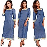 plus size blue jean dress - Bodycon4U Women's Side Slit Pockets 3/4 Sleeve Bodycon Cocktail Party Prom Denim Dresses Blue XXL