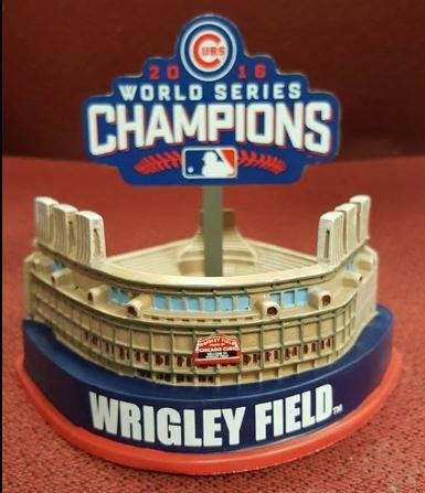 Forever Collectibles Wrigley Field Replica Stadium Chicago Cubs 2016 World Series MLB (Mlb Replica Collectibles)