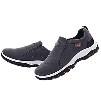 d12c15ce85 Casual Shoes Mens Wide Fitting for Jeans Outdoor Hiking Shoes Casual Shoes  Fashion Non-Slip