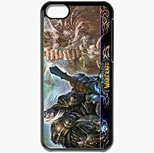 Personalized iPhone 5C Cell phone Case/Cover Skin Arthas Black