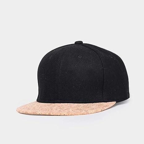 XiaoHeJD Corcho de otoño Moda Hombres Simples Sombreros Gorra de ...