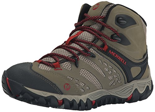 Merrell Womens All Out Blaze Ventilator Mid Waterproof Hiking Boot Brown 85 M US
