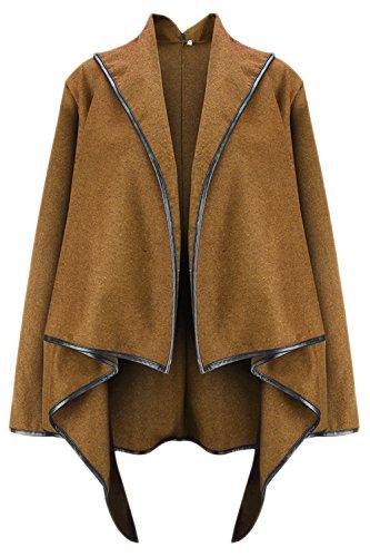 Coats Kaki Femmes L'hiver Asymétrique Élégantes Pour Les Et Trench 7vqFwB7I