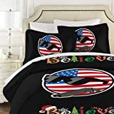 GSDHX Polandball 3 Piece Bedding in Classic