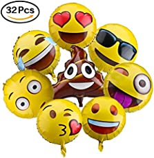 Emoji Balloons For Party