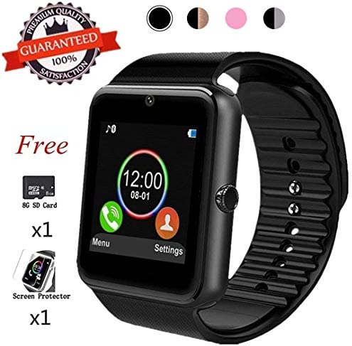 Bluetooth Android Pedometer Smartwatch Compatible product image