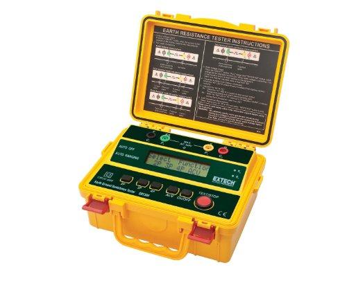 Extech Earth Resistance Tester : Extech grt four wire earth ground resistance tester