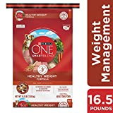 Purina ONE Weight Management, Natural Dry Dog Food; SmartBlend Healthy Weight Formula - 16.5 lb. Bag