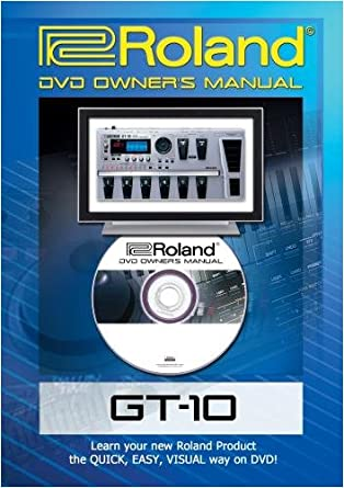 amazon com roland boss gt 10 dvd video training tutorial help rh amazon com Manuals in PDF boss gt 10 user manual