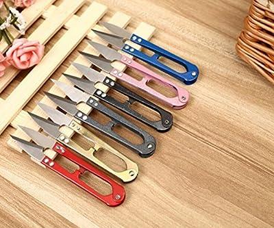 Deserve to Buy 5 Pcs U-Shaped Wire Cutter Cross Stitch Thread Cutter Scissors Nipper
