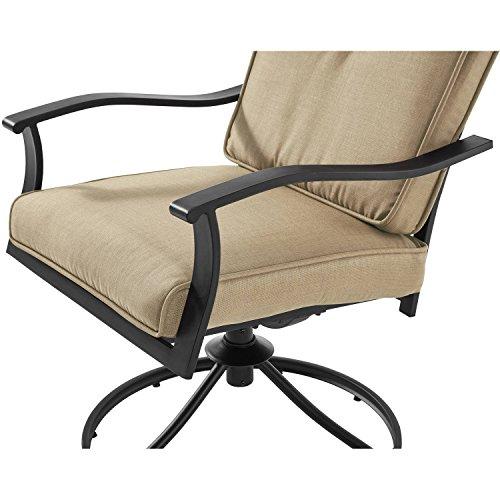 Mainstays Belden Park 3 Piece Bistro Patio Furniture Set