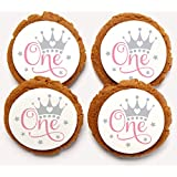 Chomp a'Lomp Cookies, Princess Birthdays, Clear Cube, 6 Decorated