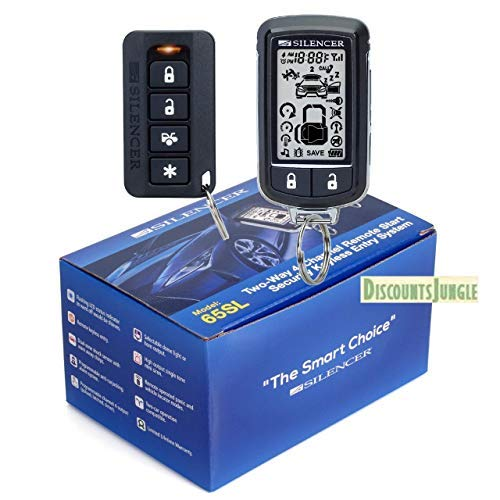 SILENCER 65SL Long Range Two-Way 4- Channel Remote Start & Full CAR Alarm System by Silencer (Image #1)