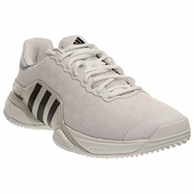 adidas Barricade 2015 Grass Tennis Men s Shoes Size 14 White Black 55af039d601