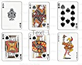 1/2 Sheet - Casino Poker Playing Cards Birthday - Edible Cake/Cupcake Party Topper!!!