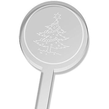 5 x 'Christmas Tree' Tall Drink Stirrers / Swizzle Sticks ...