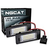 NGCAT LEDs 3528 24 SMD Bulb License Number Plate Light Lamps CanBus error free (Pack of 2)
