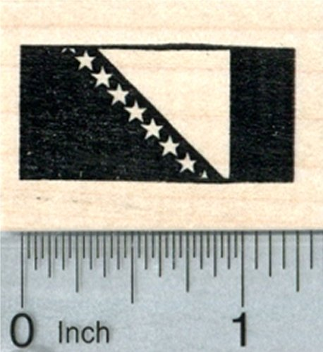 Review Flag of Bosnia Rubber