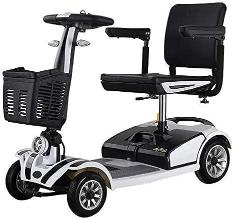 DJJY Vejez Scooter Electrico Minusvalido Moto para Personas Mayores Vehículo De Movilidad | Scooter Electrico Adulto 4 Ruedas