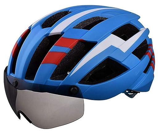 HS-GUANLY Gorro De Seguridad Transpirable Gafas Magnéticas Cabeza ...