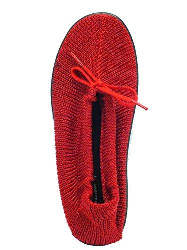 Alluce e a valgo Martello Ballerina Colore Rosso per Cinzia Soft Red Dita wq04ntFWXx