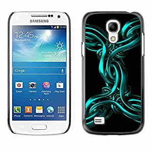 Shell-Star ( Abstract Metal 3D ) Fundas Cover Cubre Hard Case Cover para Samsung Galaxy S4 MINI / i9190 / i9192