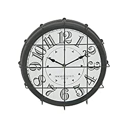 Deco 79 Classy Antique Themed Round Metal Wall Clock