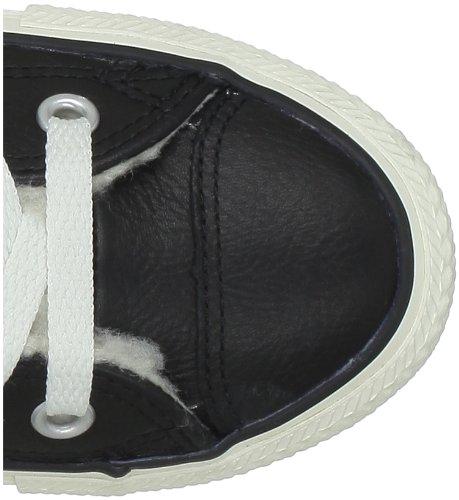 Converse Chuck Taylor All Star Shearling Leather Hi, Zapatillas Altas Unisex Adulto, Negro Noir (Noir)