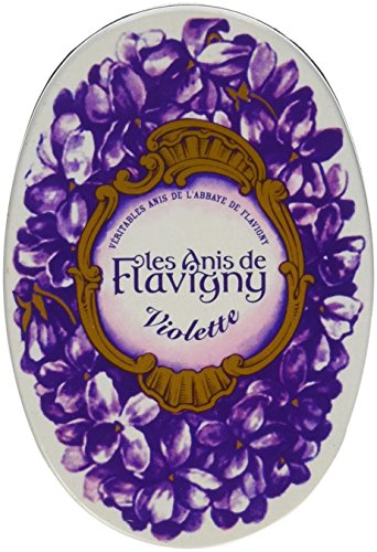 (Violet Flavored Hard Candy 50 g by Les Anis de Flavigny)