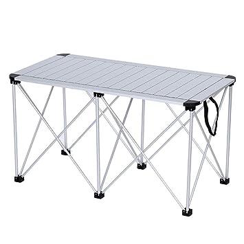 DX Table Pliable Rangée de Table de Barbecue rectangulaire ...
