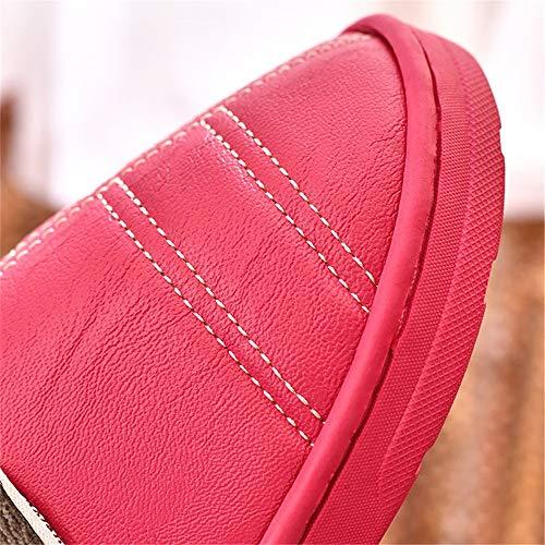 calore 38 EU YMFIE scarpe 37 donna cotone invernali per caldo al 36 antiscivolo comode resistenti Le EU casa da e 39 impermeabili in la wwSxO4qp
