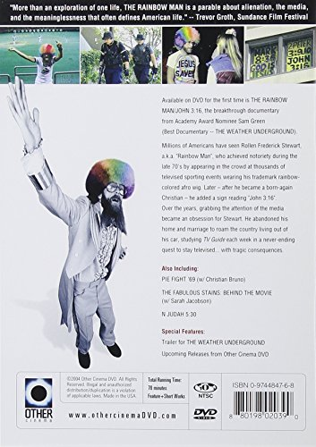 The Rainbow Man/John 3:16