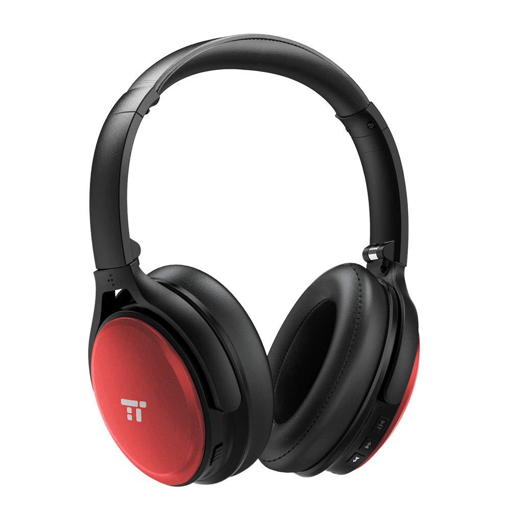 Active Noise Cancelling Headphones,TaoTronics Active Noise Cancelling Headphones 45H Playtime Bluetooth Headphones Over Ear Headphones Wireless Headphones