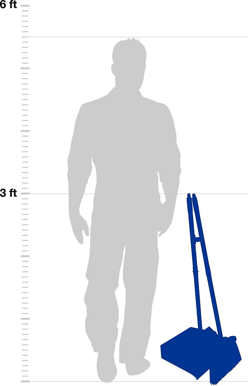 Carlisle 36141503 Duo-Pan Dustpan & Lobby Broom Combo, 3 Foot Overall Height, Black (Fоur Paсk) by Carlisle (Image #5)