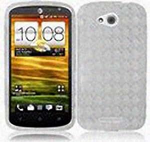 Transparent Clear Flex Cover Case for HTC One VX