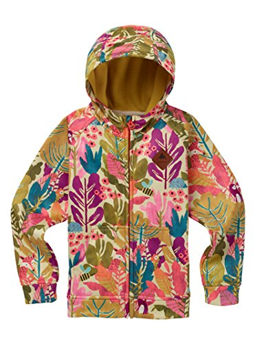 - Burton Toddler Crown Bonded Full Zip Hoodie, Forest Friends, 3T