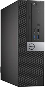 Dell Optiplex 5040 | i7 i7-6700 Quad Core 3.4GHz | 8GB Memory | 256GB SSD Win10 Pro | Small Form Factor (Renewed)