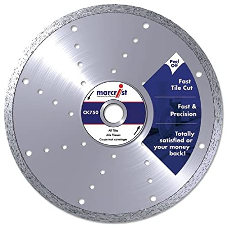 Marcrist ck750 350mm x 30mm fast tile saw diamond cutting blade marcrist ck750 350mm x 30mm fast tile saw diamond cutting blade without flange for marble greentooth Images
