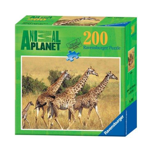 Ravensburger Animal Planet: Giraffes - 200 Pieces (200 Pc Ravensburger Kids Puzzle)