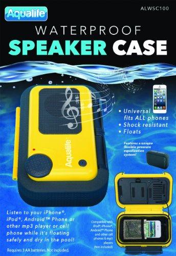 AquaLife Floating Waterproof Speaker Case