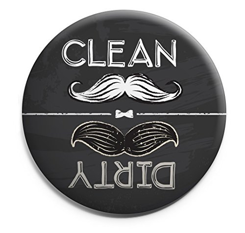 ALOHA GIRLS GIFTS Clean Dirty Dishwasher Magnet.