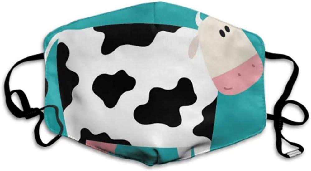 Máscaras Creativas de Animales de Dibujos Animados de Vaca para protección contra el Polvo Máscara Facial al Aire Libre Máscara bucal Máscara Adulta Boca