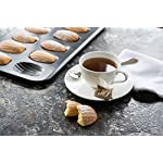 Bellemain 12-Cup Nonstick Madeleine Pan 9 Makes classic French shell-shaped madeleines Heavy-duty carbon steel Conducts heat quickly and evenly