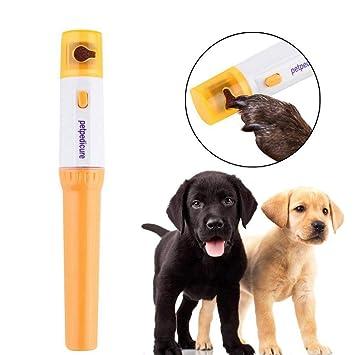 Pet Pedicura Lima Uñas para Perro y Gato A Batería: Amazon.es: Electrónica